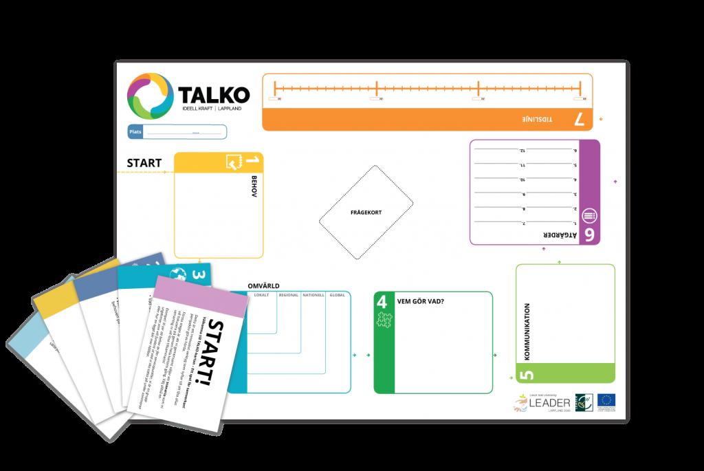 Talko kartan